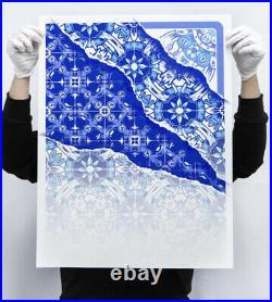 ADD FUEL Vestigo 05 Silkscreen Limited Edition Print Signed 13/50 19 COA