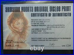 ARMANDO HUERTA LIMITED EDITION GICLEE PRINT #2/10 ROGUE ONE #2 SIGNED WithCOA