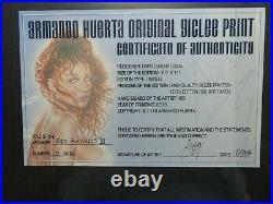 ARMANDO HUERTA LIMITED EDITION GICLEE PRINT REY AWAKENS 3 #10/20 SIGNED WithCOA