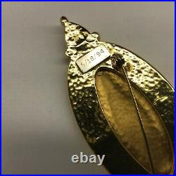 Ann Hand Freedom Brooch First Lady's Luncheon Limited Edition COA 1994