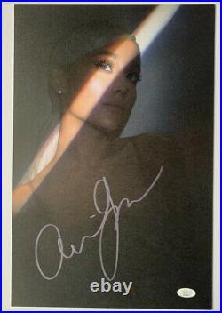 Ariana Grande Signed 17x11 Lithograph Auto Limited JSA COA #EE88562