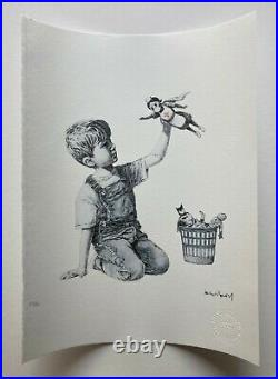 BANKSY Game Changer ART PRINT Paper Limited Edition 128/150 with COA Nurse NHS