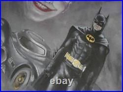 Batman The Legend By Bob Kane Limited Edition Ap 72/125 With Coa