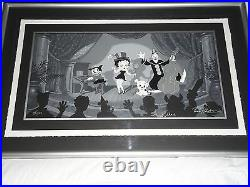 Betty Boop Limited Edition Animation Cel, Showtime, Signed, COA
