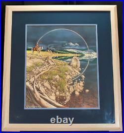 Bev Doolittle The Sentinel Framed Limited Edition Print #34,483 of 35,000