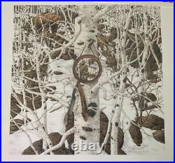 Bev Doolittle Three More for Breakfast Signed Limited Edition Print with COA