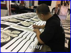 Beyond the Streets -Beyond LA by SLICK Signed & Numbered withCOA 250 Limited Ed