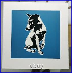 Blek le Rat His Master's Voiceless 2008 Signed Limited Edition 100 + CoA