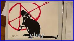 Blek le Rat The Anarchist Limited Edition Signed with COA