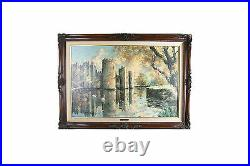 Bodiam Twilight By Marty Bell Signed Limited Edition Print #67/900 with CoA