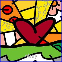 Britto Forever Hand Signed Limited Edition Giclee on Canvas COA
