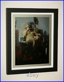 CHRISTIAN HOOK Limited Edition Print on Aluminium Nocturne A Gallery Frame + COA