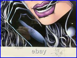 Catwoman Lithograph signed by Jim Balent Limited Ed. 205/250 COA Warner Bros