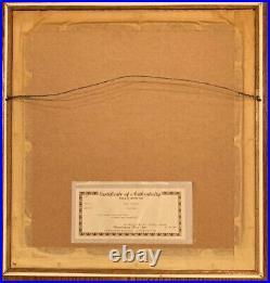 Charles Fazzino Just Boston limited edition 3D Paper Art 40/475 COA