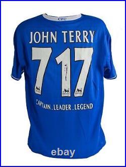 Chelsea Signed John Terry Shirt Rare Limited EditION AFTAL COA
