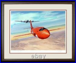Chuck Yeager's Conquest Mach 1 Limited Edt Litho By Roy Grinnell Both Signed COA