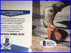 Cyndi Lauper Rare Signed Limited Edition 30th Anniversary VIP Poster + BAS COA