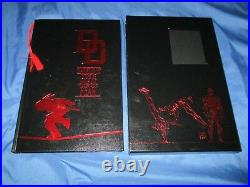 DAREDEVIL Leather/Slipcase MARVEL LIMITED HC/HB Signed by Stan Lee withCOAMovie