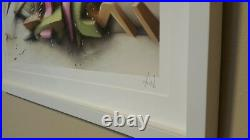 Daim Graffiti Art Limited New Museum Custom Framing COA / Cope2 / Seen/ Banksy