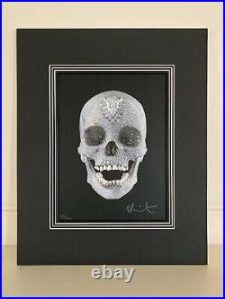 Damien Hirst Born 1965 For the Love of God Limited edition silkscreen COA