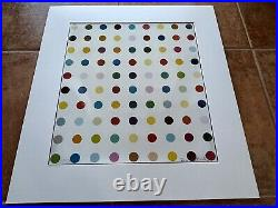 Damien Hirst SIGNED & MATTED Opium Limited Edition 452/500 COA Beckett RARE
