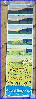 David Hockney Limited Edition unsigned Print + COA Poster Bigger Splash Circa