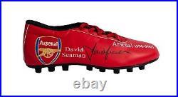 David Seaman Signed Limited Edition Arsenal Football Boot Aftal Coa