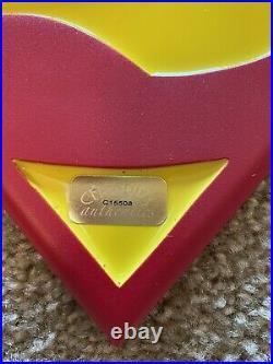 Dean Cain Superman Emblem Crest Signed Limited Edition COA Resin