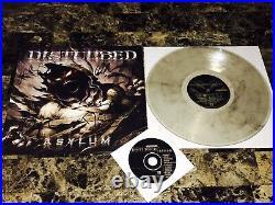 Disturbed Rare Signed Asylum Limited Edition Vinyl Record Dave Draiman COA + COA