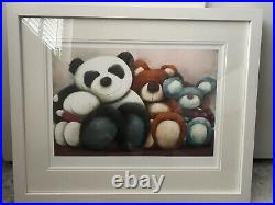 Doug Hyde Sold Out Framed Signed New Friends Limited Edition Print With COA
