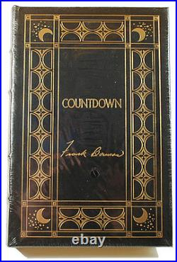 Easton Press COUNTDOWN Frank Borman Signed Limited Edition Leather withCOA Sealed