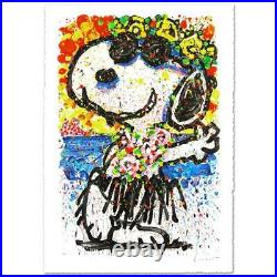 Everhart Boom Shaka Laka Laka Signed Limited Edition Peanuts Lithograph COA