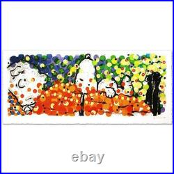 Everhart Pillow Talk Signed Limited Edition Peanuts Lithograph COA