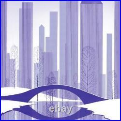 Eyvind Earle Central Park Hand-Signed Limited Edition Serigraph COA