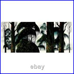 Eyvind Earle Forest Magic Hand-Signed Limited Edition Serigraph COA