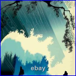 Eyvind Earle Ocean Splash Hand-Signed Limited Edition Serigraph COA