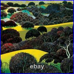 Eyvind Earle Santa Ynez Memories Hand-Signed Limited Edition Serigraph COA