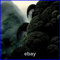 Eyvind Earle Spirit Grove Hand-Signed Limited Edition Serigraph COA