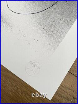 Fanakapan Mr Happy Limited Edition Print Of 125 Signed With Coa