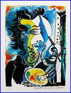 Fine Art Pablo Picasso THE ARTIST Estate Signed Limited Edition Giclee WithCOA
