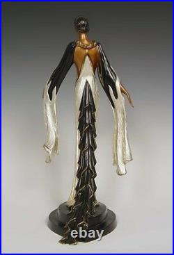 Fire-leaves (Bronze), Limited Edition, Erte MINT CONDITION with COA