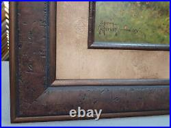 G. Harvey Framed Spring In The Tetons Limited Collector Edition With Coa