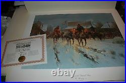 G Harvey TRADING AT THE GENERAL STORE, 1984 S/N paper Limited Edition MINT withCOA
