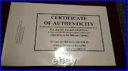 GI Joe #33 Turner signed Foil Cover Graham Crackers variant 1 of 200 limited COA