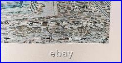 Guillaume Azoulay Isti Bisti Limited Edition Giclee On Canvas Hand Signed Coa
