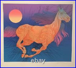 Guillaume Azoulay Vitesse Limited Edition Serigraph On Paper Hand Signed Coa