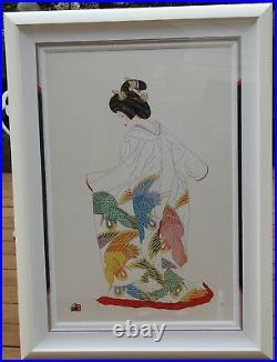 Hisashi Otsuka Flight of Fantasy Limited Edition # 06/100 Signed Framed COA