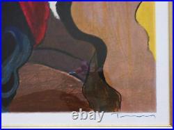 Itzchak Tarkay Quiet Moments Framed Limited Edition Serigraph Hand Signed COA