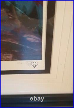 JJ ADAMS'DANCE WITH THE DEVIL Framed + Coa Limited edition Never hung