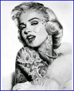 JJ Adams Marilyn Monroe, Artist Proof. Rare limited edition, signed, COA. New
